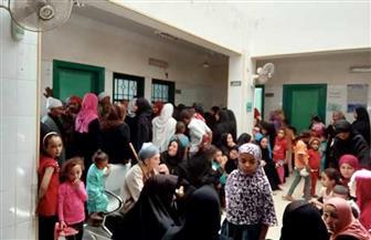 الكشف على 750 مريضا خلال قافلة طبية بقرية نزلة عمارة في سوهاج | صور