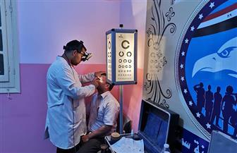 الكشف على 235 مواطنا في قافلة طبية للعيون بمركز سمنود | صور