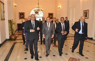 رئيس مجلس الدولة: الرئيس السيسي أعرب عن دعمه الكامل لاستقلال القضاء الإداري   صور