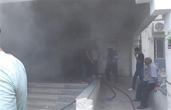 السيطرة على حريق بقسم الأشعة بمركز أبحاث أمراض الكبد بكفر الشيخ | صور