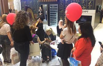 الجناح المصري يحصل على جائزة المشاركة المميزة بمعرض Leisure السياحي بموسكو | صور
