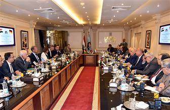 """""""العربية للتصنيع"""" تستقبل رئيس اتحاد الغرف التجارية الألمانية لتفعيل اتفاقية التصنيع والتصدير المشترك"""