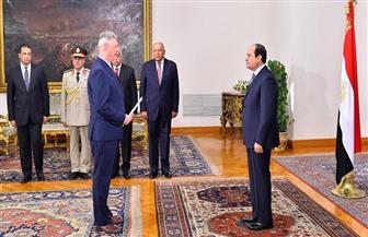 الرئيس السيسي يتسلم أوراق اعتماد 10 سفراء أجانب جدد | فيديو وصور