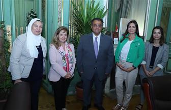 جامعة عين شمس تبحث الاستعدادات النهائية لافتتاح أول قسم للغة البرتغالية بالجامعات | صور