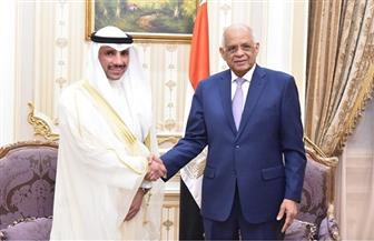 علي عبد العال يلتقي رئيس مجلس الأمة الكويتي | صور