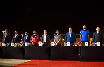 انطلاق حفل تكريم أبطال النادي الأهلي الذين حققوا إنجازات عربية وإفريقية وعالمية
