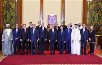 الرئيس السيسي يستقبل أعضاء مجلس محافظي المصارف المركزية ومؤسسات النقد العربية