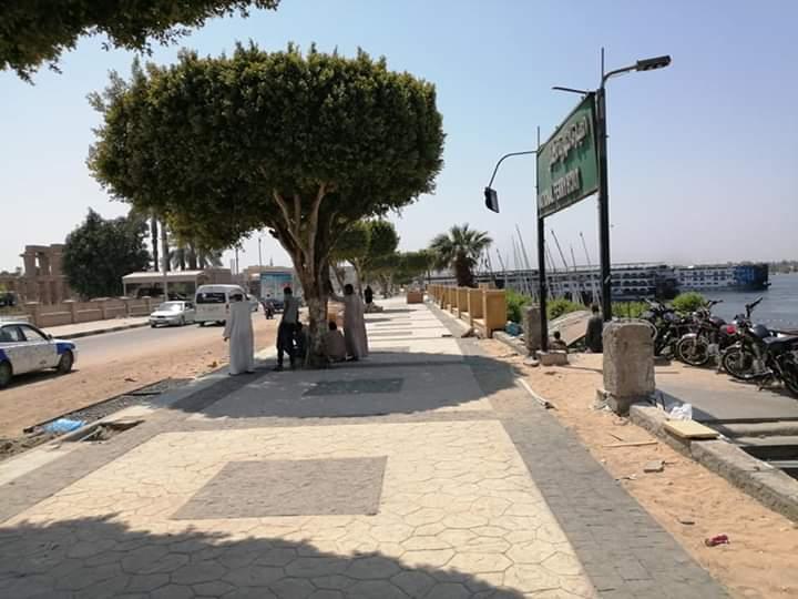 إنهاء المرحلة الأولي والثانية من تطوير كورنيش النيل
