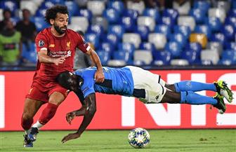 التعادل السلبى يخيم على الشوط الأول بين ليفربول ونابولى بدورى أبطال أوروبا