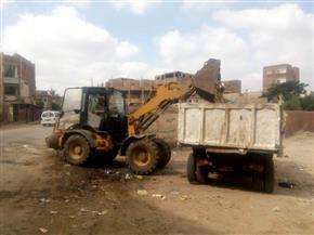حملات نظافة ورفع إشغالات بمراكز المنوفية| صور