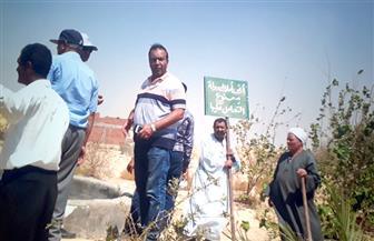 إزالة 9 حالات تعد على أملاك الدولة في قريتي منشأة الجمال والمظاطلي بالفيوم| صور