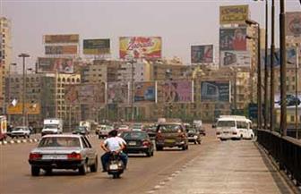 النشرة المرورية للعاصمة.. سيولة بكوبري أكتوبر وبطء بكورنيش النيل