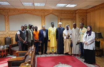 بنجورا: مبعوثو الأزهر دورهم محوري في نشر السلام بين المسلمين وأصحاب الديانات الأخرى | صور