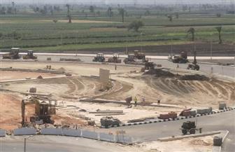 محافظ أسيوط يتفقد الأعمال النهائية لمحور الهضبة الغربية وتطوير الطريق الدائري| صور