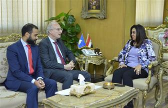 محافظ دمياط تستقبل السفير الأرجنتيني بمصر لبحث توطيد العلاقات التجارية بين البلدين صور