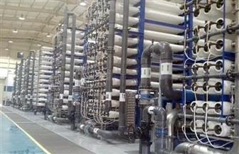 إجراء التشغيل التجريبي لمحطة المعالجة الثلاثية بالغردقة بتكلفة 875 مليون جنيه   صور