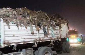 محافظ الشرقية: رفع 1500 طن قمامة ومخلفات من النقطة الوسيطة والمقلب العشوائي ببلبيس |صور