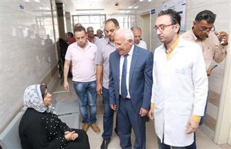 محافظ بورسعيد: تخطينا نسبة الـ 55% من المستهدف تسجيله بمنظومة التأمين الصحي الشامل | صور