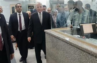 وزير العدل يفاجئ مجمع المحاكم والشهر العقاري ببورسعيد | صور