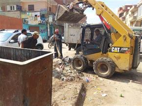 رفع 768 طن قمامة ومخلفات تنفيذا لحملة النظافة الموحدة بالشرقية| صور