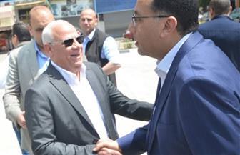 رئيس الوزراء يتفقد أعمال تطوير مبني ديوان عام محافظة بورسعيد