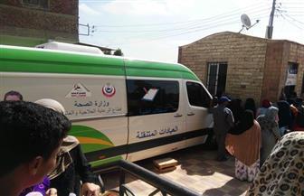 الكشف  الطبي على 2260 مواطنا في قرية الباز بدمياط|صور