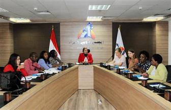 وفد حقوقي زيمبابوي يزور القومي للمرأة للتعرف على جهود مصر في ملف المرأة| صور
