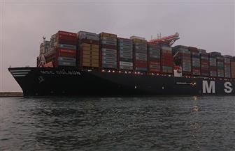 عبور 1678 سفينة قناة السويس خلال أغسطس الماضي بحمولات 105.9 مليون طن