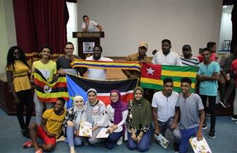 وصول 20 وفدا شبابيا للقاهرة للمشاركة بأوسكار الإبداع الإفريقي | صور