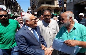 محافظ بورسعيد: تطوير محاور شارع محمد علي بناء على خطة أساتذة طرق وخبراء المرور | صور