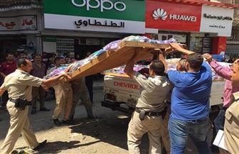 ضبط 6821 مخالفة في حملة لإزالة التعديات والإشغالات بحي غرب المنصورة   صور