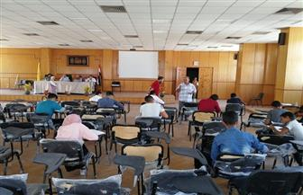 بدء اختبارات قبول أبناء الشهداء في مدارس التمريض بشمال سيناء | صور