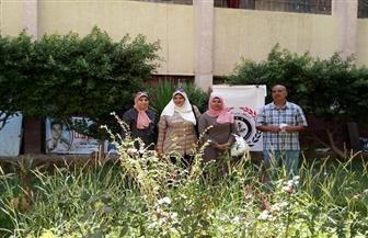"""""""حب الوطن"""" يواصل العطاء بمبادرة زراعة المليون شجرة مثمرة بمدارس العمرانية"""