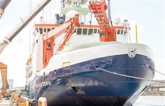 """سفينة الأبحاث """"بولارشتيرن"""" تغادر مرفأها في النرويج صوب القطب الشمالي"""