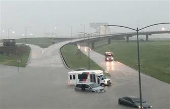 ذيول العاصفة الاستوائية إيميلدا تجتاح ولاية تكساس الأمريكية
