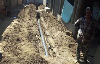 إحلال وتجديد خطوط المياه في قرية الحمادية بسوهاج | صور