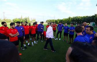 الخطيب للاعبي الأهلي: مبروك السوبر.. وهدفنا دوري أبطال إفريقيا |صور
