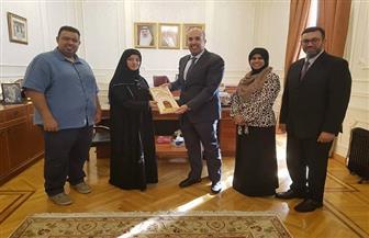 سفير البحرين بمصر يهنئ جمعية الصم البحرينية على نجاحهم بمؤتمر شرم الشيخ