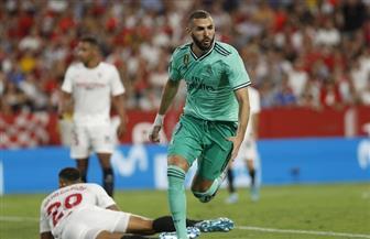 بنزيما يقود ريال مدريد للفوز على إشبيلية بالدوري الإسباني