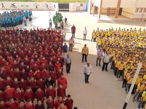 انتظام مليون و250 ألف طالب وطالبة بمدارس الإسكندرية | صور