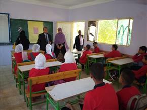 مدارس الوادي الجديد تستقبل 65 ألف طالب وطالبة في أول يوم دراسي