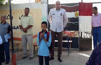إحالة عدد من الموظفين والمدرسين للشئون القانونية بمدينة الطود في الأقصر | صور