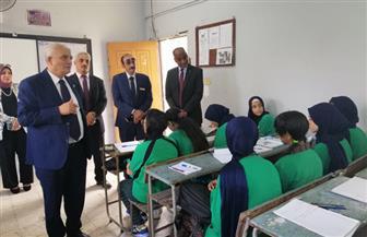 قيادات التربية والتعليم يتابعون انتظام سير العملية التعليمية في مدارس القاهرة | صور