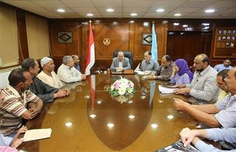 محافظ كفر الشيخ يسلم 13 عقد تقنين أراضي أملاك دولة | صور