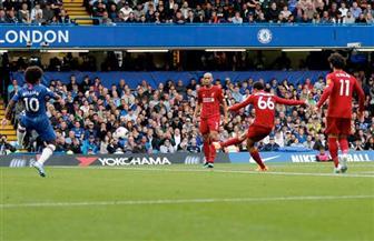 بعد 35 دقيقة.. تقدم ليفربول بهدفين وإلغاء هدف لتشيلسي