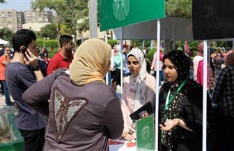 إقبال كبير على مهرجان استقبال الطلاب الجدد والقدامى بجامعة عين شمس | صور