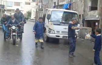 """نائب محافظ الإسكندرية يستطلع مدى رضاء المواطنين عن جمع القمامة بـ""""الصافرة"""""""