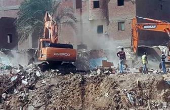 """مسئولو """"الإسكان"""" و""""محافظة القاهرة"""" يتابعون الموقف التنفيذي لمشروع محور ترعة الطوارئ"""