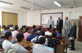 يوسف عامر يتفقد كلية إعلام الأزهر ويوضح للطلاب حقوقهم وواجباتهم