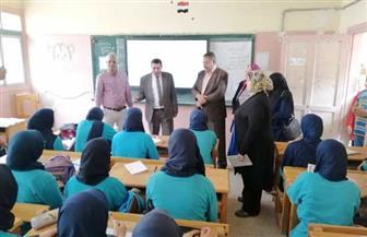 وكيل تعليم الإسكندرية يشدد على عدم استخدام العنف مع التلاميذ | صور